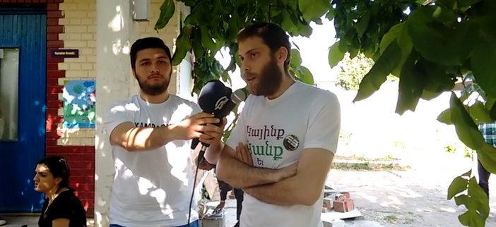 Kamp Armen Dayanışması: Tapu iadesine kadar nöbeti sürdüreceğiz