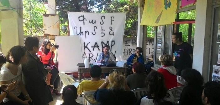 Kamp Armen'de çözüm arayışı sürüyor