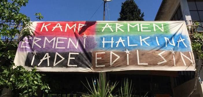 Kamp Armen'de cıvıl cıvıl buluşma