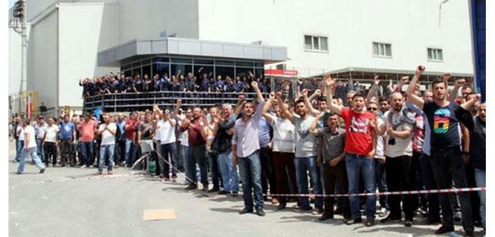 Metal işçilerinin direnişi Kocaeli'ne sıçradı