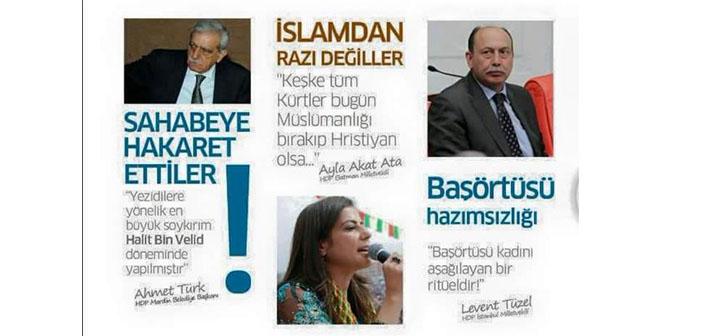 HDP aleyhindeki broşürlerde AK Parti muamması