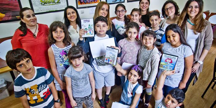 Karagözyanlı çocukların el emeği çizgi filmler