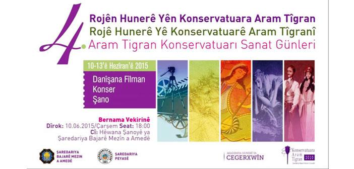 Diyarbakır'da 'Aram Tigran Sanat Günleri' başlıyor