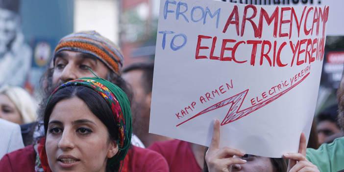 Kamp Armen için ikinci yürüyüş: