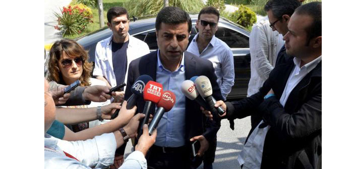 "Demirtaş: ""We will not be part of a coalition that includes AKP"""