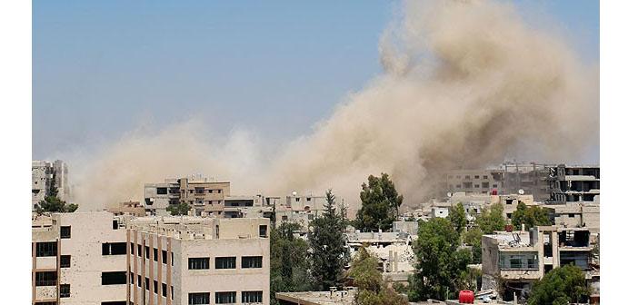 Halep'teki saldırıda 14 kişi hayatını kaybetti