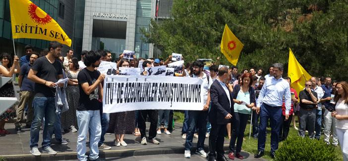 İTÜ'lü öğrencilerden Soykırım soruşturmasına tepki
