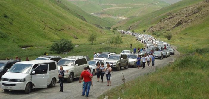 200 Ermeni aile tatil için Karabağ'ı seçti