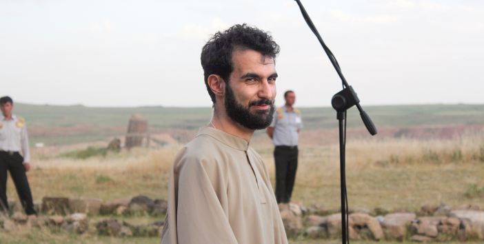 Tigran Hamasyan arrives at Ani and Aghtamar