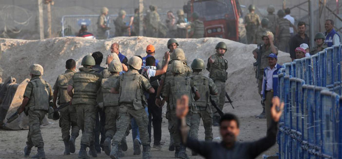 Tel Abyad, YPG'nin kontrolünde