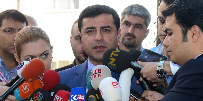 "Demirtaş: ""We will not allow you to drag this country into a civil war"""