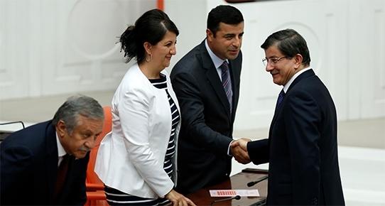 AKP ve HDP heyetleri belli oldu