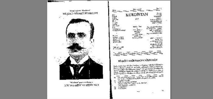 Soykırıma 13 yıl kala Kürdistan Gazetesi (1898-1902)