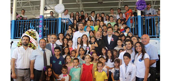 Kınalı Kampı 50. kez çocuklara 'merhaba' dedi