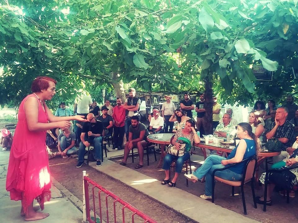Udi Yervant, Kamp Armen nöbetindeydi