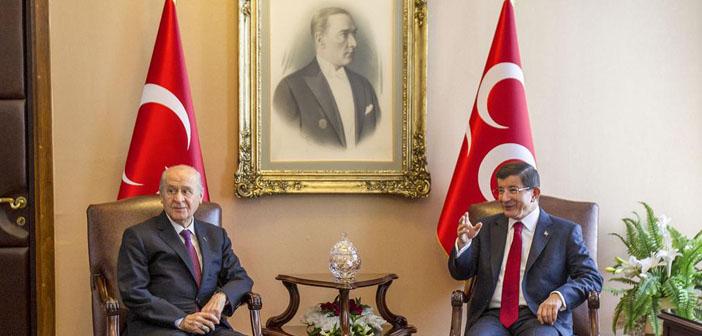 AKP - MHP görüşmesi sona erdi