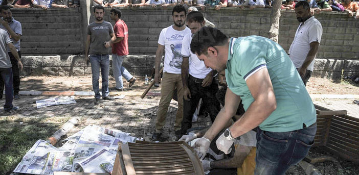 Bomb attack in Suruç: Many dead and injured