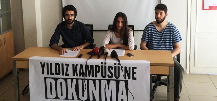 'Yıldız Kampüsü'ne dokunma' diyen öğrencilere disiplin soruşturması