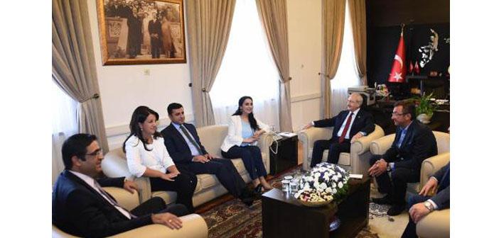 HDP ve CHP barış için bir araya geldi