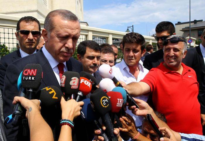 Erdoğan: 45 günlük süreyi esnetemem