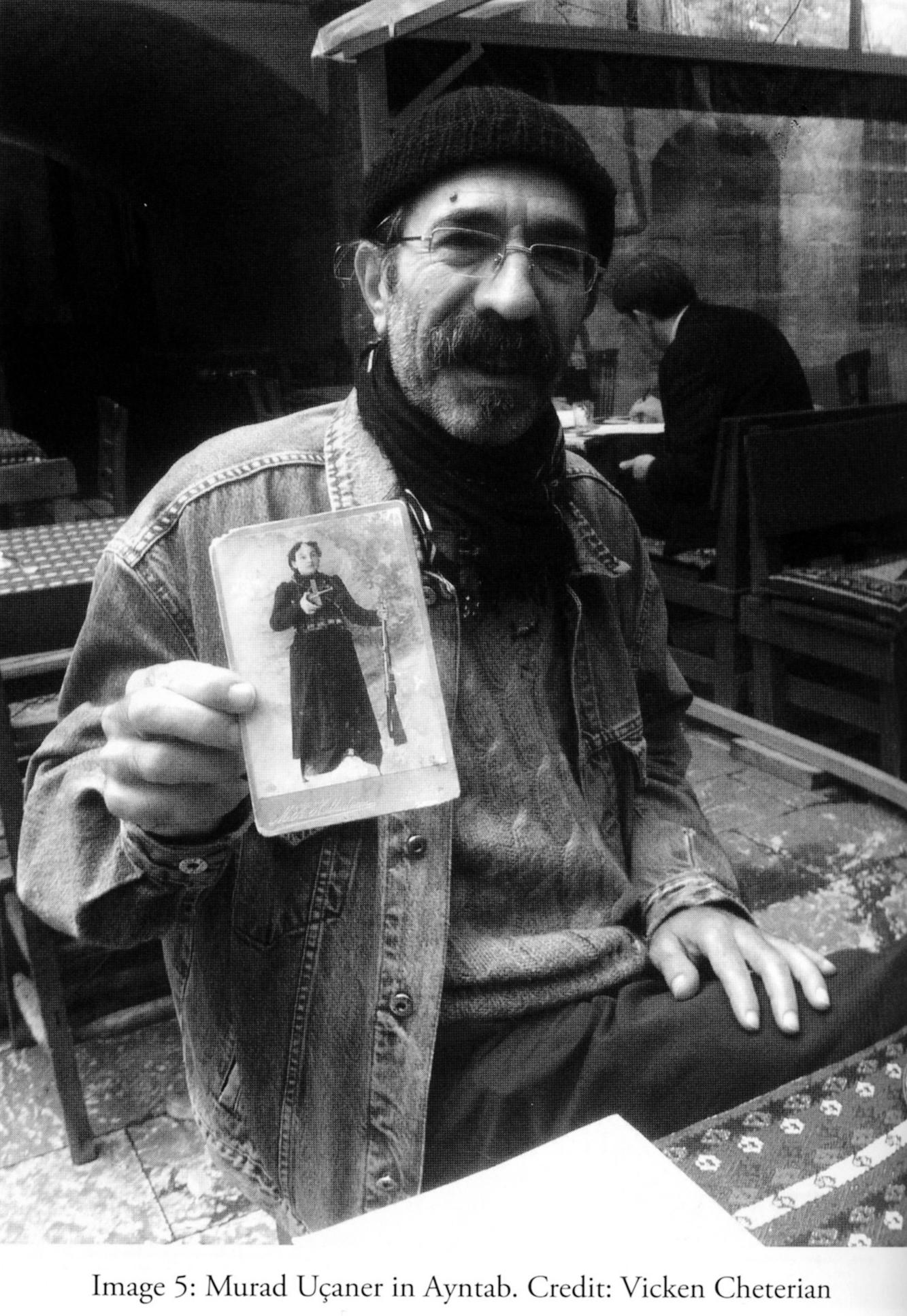 Murat Uçaner, Antep. Fotoğraf: Vicken Cheterian