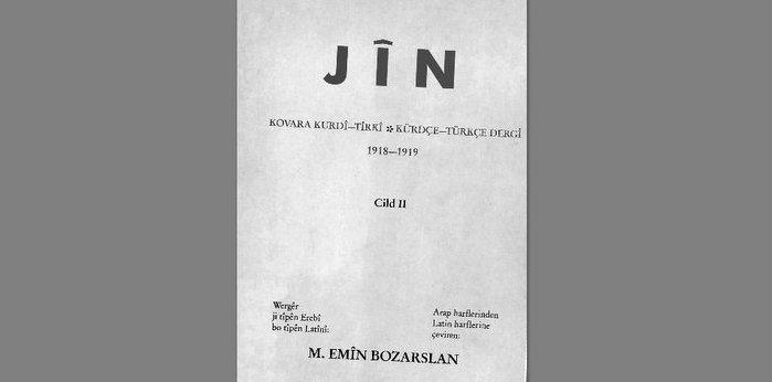 """Soykırım Dumanları Tüterken """"Jin Gazetesi (1918-1919)"""