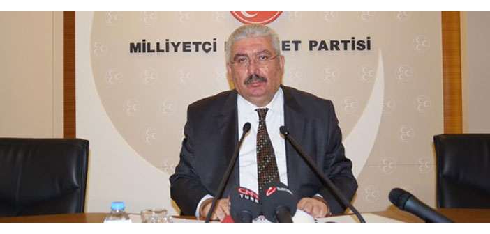 MHP: Erken seçime gidilirse, azınlık hükümetine destek veririz