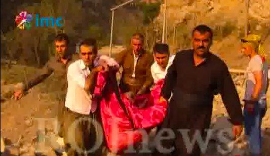 Kandil'deki Zergele Köyü bombalandı, 10 sivil hayatını kaybetti