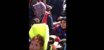 Suriyeli Hüda'nın Edirne'den Midilli'ye yolculuğu