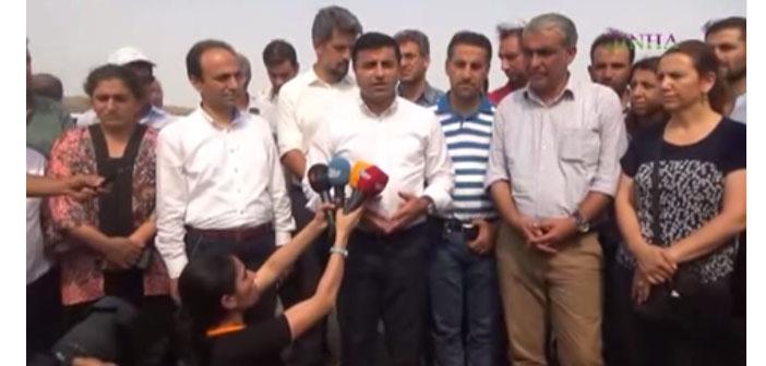 Demirtaş: Biz insanları HDP'ye çekmek istiyoruz, AKP dağa yollamak