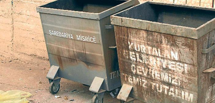 Diyarbakır'da çöp kutuları artık yasak