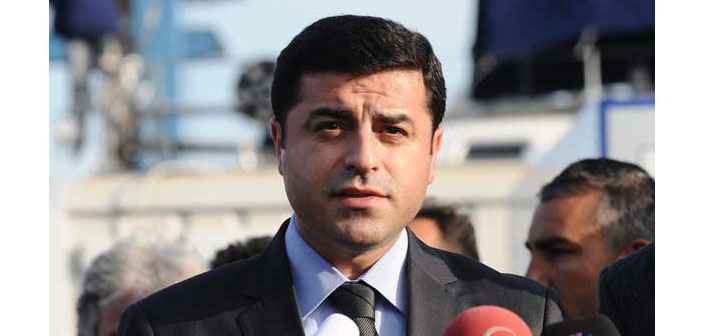 Demirtaş: What you have burned is not our buildings; it is your common future