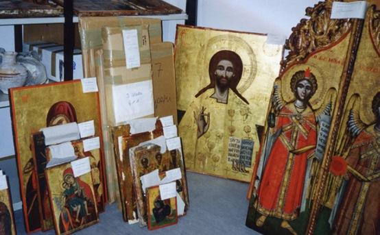 Bizans eserleri Kıbrıs'a dönüyor