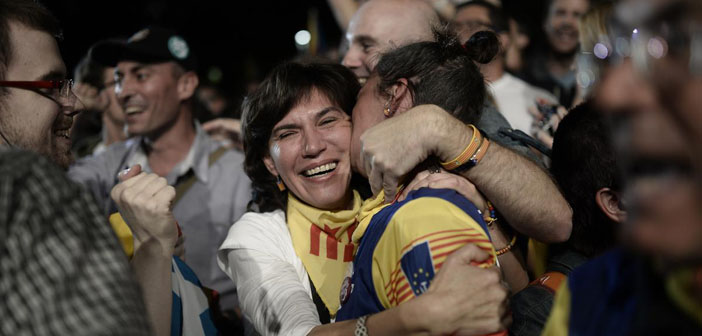 Katalonya'da bağımsızlık yanlılarının zaferi
