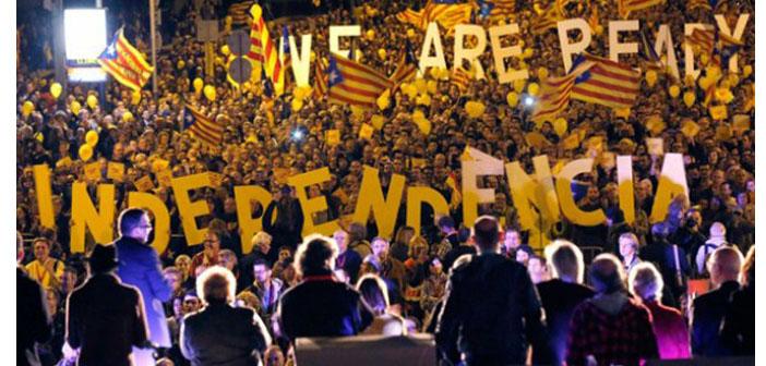 Katalonya koltuk değnekleriyle bağımsızlığına yürüyor