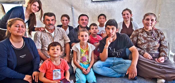 Tovmasyan ailesi Yerevan'da
