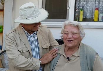 Gümüşhacıköy'deki  son Ermeni ailesinden  87 yaşındaki Zabet Minaser.