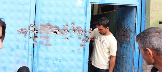 Nusaybin'de sokağa çıkma yasağı sona erdi: Sönmez ailesine taziye