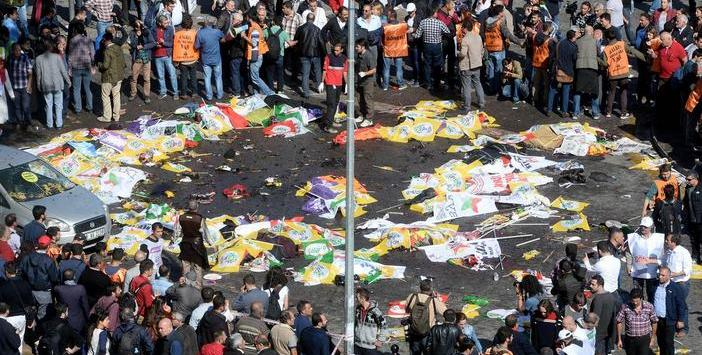 Explosions at the Peace Rally in Ankara: 97 killed, 246 injured