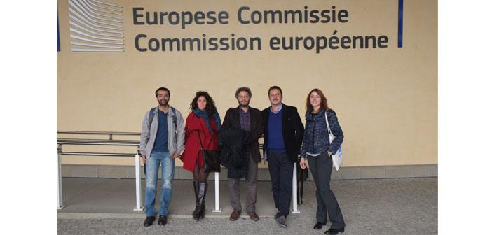 Sosyal Medya ve Azınlıklar ekibi Brüksel'deydi