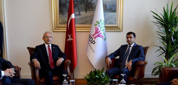 Kılıçdaroğlu, Demirtaş ve Yüksekdağ ile görüştü