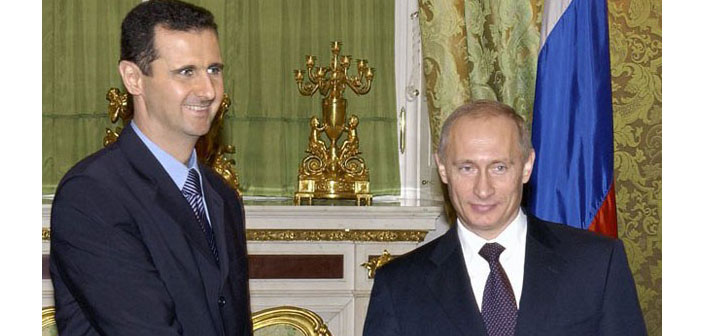 Moskova'da Putin - Esad görüşmesi