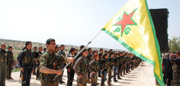ABD'den YPG'ye 50 ton silah