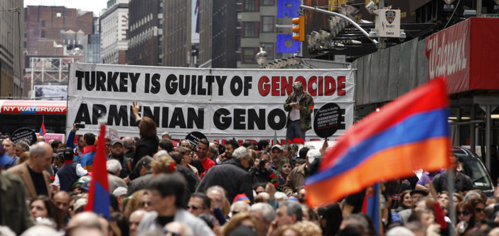"Half of the US doesn't ""recognize"" the genocide"