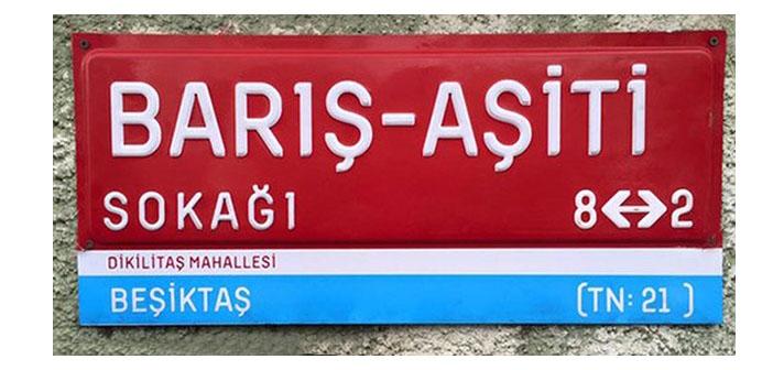 Artık Beşiktaş'ın Aşiti sokağı var