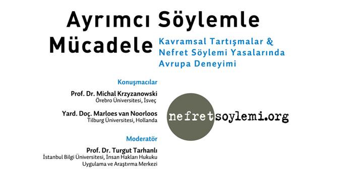 Hrant Dink Vakfı'nın 'Ayrımcı Söylemle Mücadele' paneli yarın