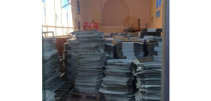 Bayındır Surp Asdvadzadzin Kilisesi depo olarak kullanılıyor