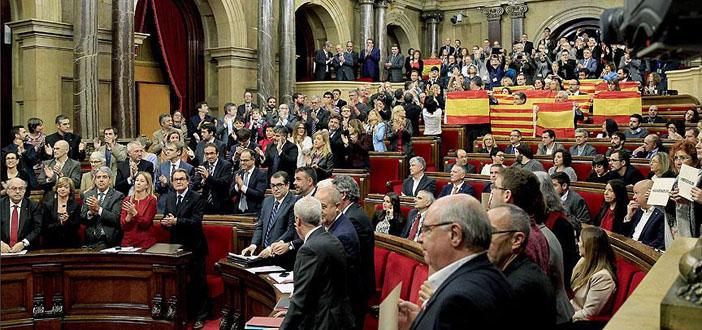 Katalonya Parlamentosu, bağımsızlık tasarısını kabul etti