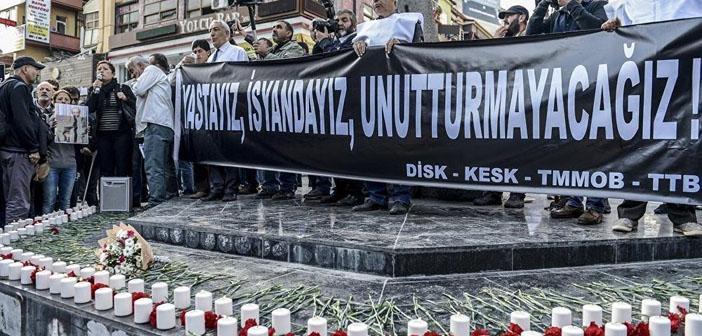 Kitle örgütlerinden Ankara katliamıyla ilgili suç duyurusu