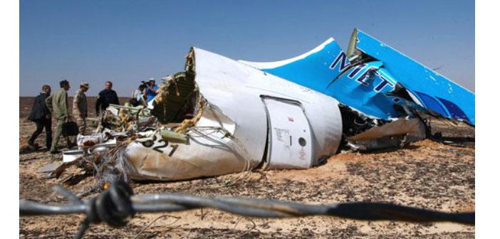 Rusya: Uçağın düşme nedeni terör saldırısı